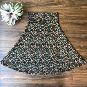 A-Line Azure Lularoe Skirt